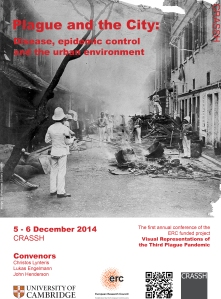 Plague and the city conference poster